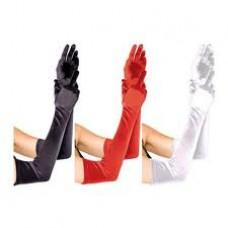SexManiaBG.COM - Sexshop - сексшоп - еротичен магазин - Дълги сатенени ръкавици-различни цветове